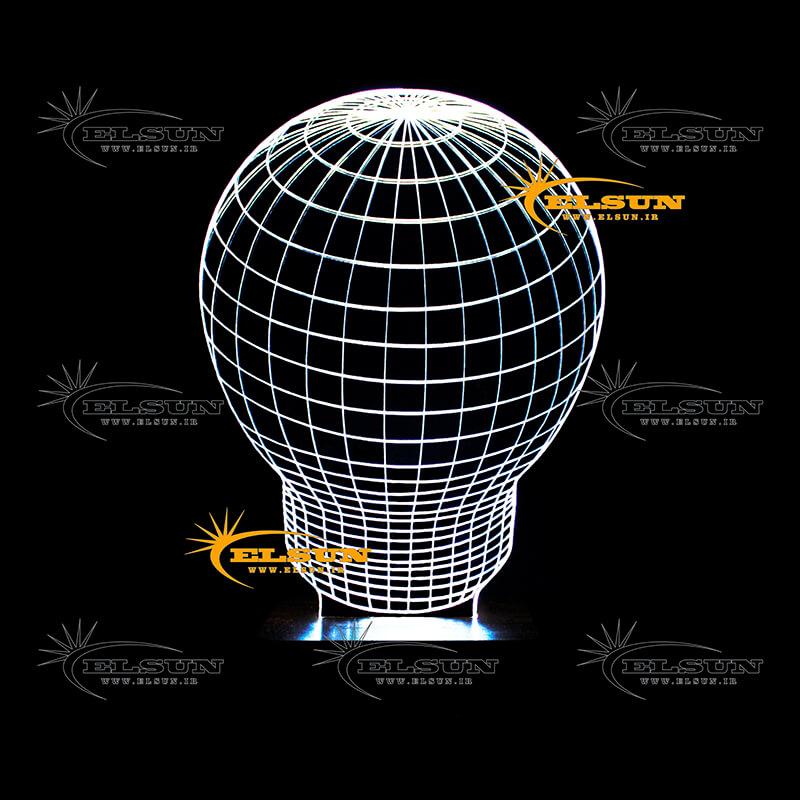 چراغ خواب سه بعدی طرح 49 - فروشگاه اینترنتی السان