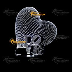 بالبینگ قلب سه بعدی