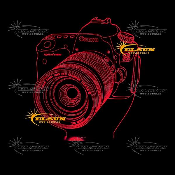 آباژور سه بعدی دوربین