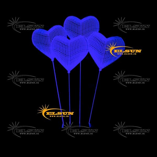 بالبینگ سه بعدی بادکنک قلب