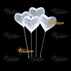 چراغ خواب سه بعدی بادکنک قلب